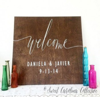 welcome-sign-wedding